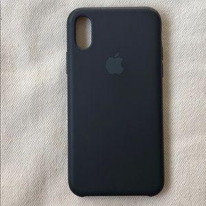 iPhone X & XS Silicone Case - Black